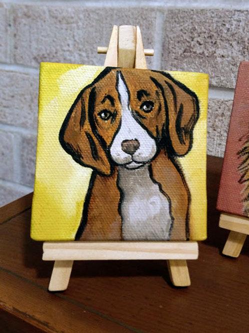 """3"""" x 3"""" Cutie Pet Portrait"""