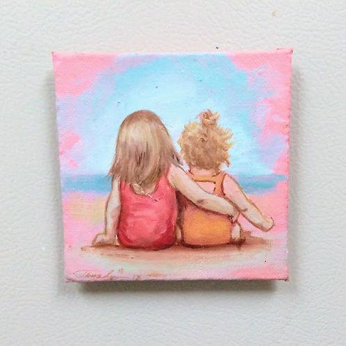 Mini Magnet Painting