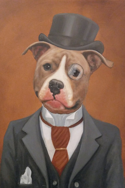 "24"" x 30"" Costume Pet Portrait"