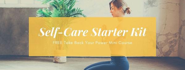 Self-care Starter Kit