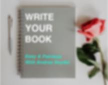 Write your book Andrea Seydel