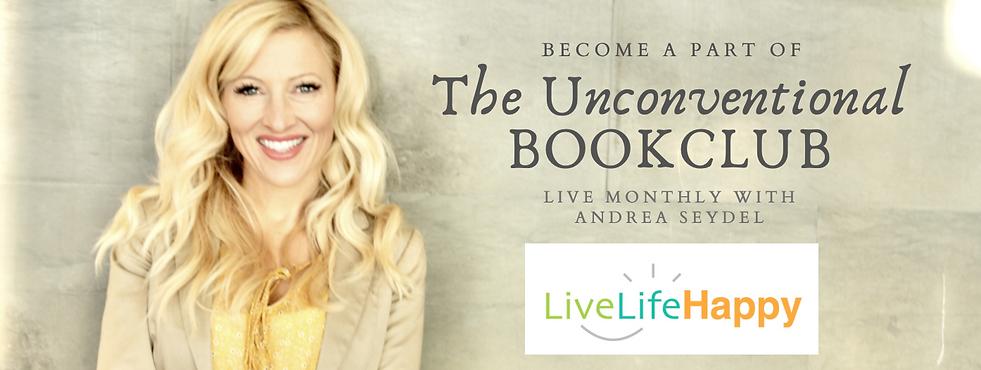 Unconventional Bookclub Andrea Seydel He