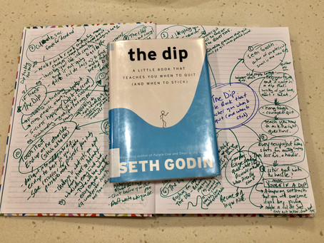The Dip: When to quit and when to stick