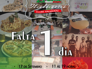 Faltam apenas 1 dias ! #FestaItaliana