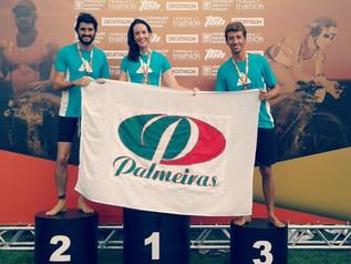 Palmeiras conquista duas medalhas no Campeonato Mineiro de Triathlon e Travessia !