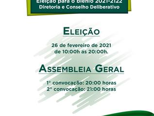 Eleição Diretoria e Conselho Deliberativo  biênio 2021-2022
