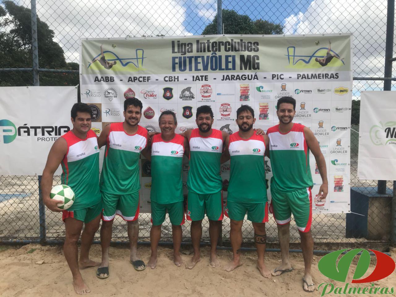 Duplas representando o Palmeiras