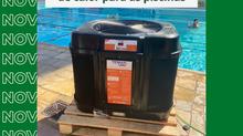 Novas bombas trocadoras de calor para as piscinas