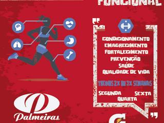 Clube Palmeiras inicia treinamento funcional !