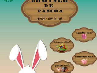DOMINGO DE PÁSCOA NO PALMEIRAS !