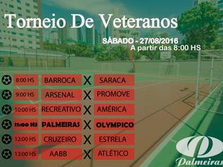 Palmeiras invicto no Torneio de Veteranos !