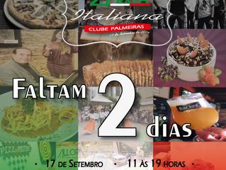 Faltam apenas 2 dias ! #FestaItaliana