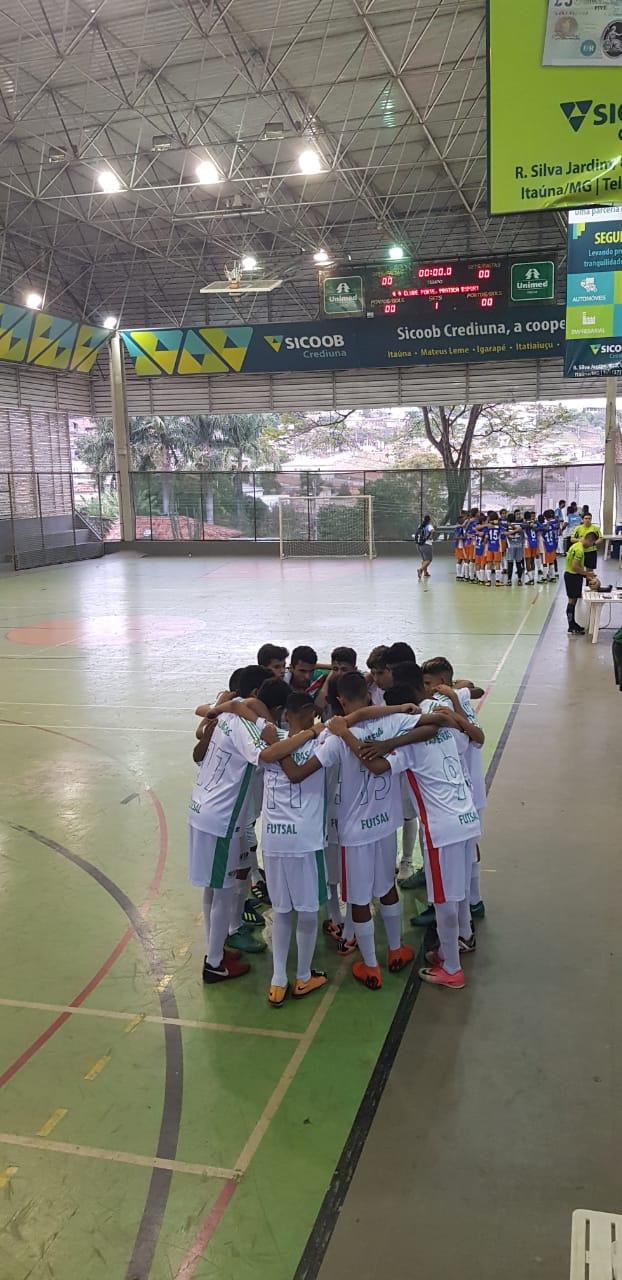 Equipe Sub 15 de futsal