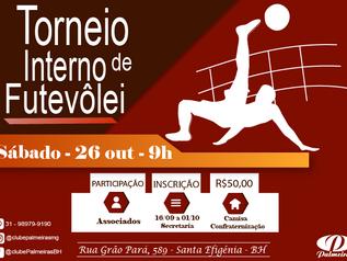 Torneio Interno de Futevôlei do Palmeiras