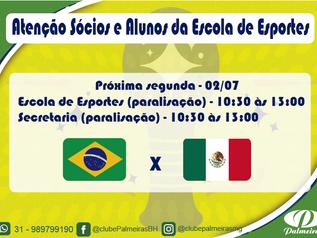 Programação Clube Palmeiras na Copa do Mundo