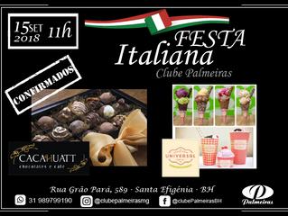 Sorveteria Universal e Cacahuatt confirmados na Festa Italiana
