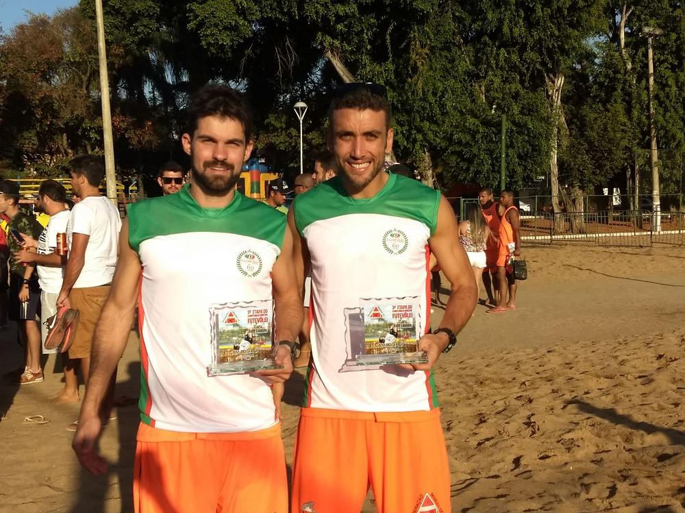 Representando o Palmeiras tivemos Thiago Petri e Pedro Burle que foram vice-campeões na categoria Amador B.