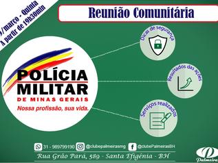 Reunião Comunitária Polícia Militar de Minas Gerais