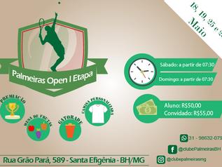 Palmeiras Open de Tenis 1ª Etapa