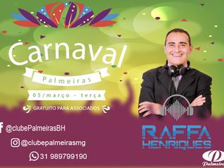 Confirmado Dj Raffa no Carnaval do Palmeiras