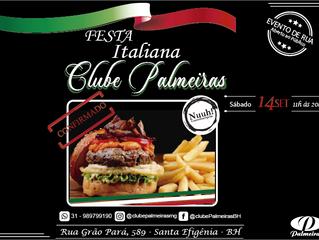 Nuuh Gastroburguer na Festa Italiana do Clube Palmeiras