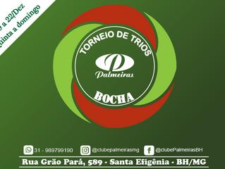 Torneio de Trios de Bocha do Palmeiras