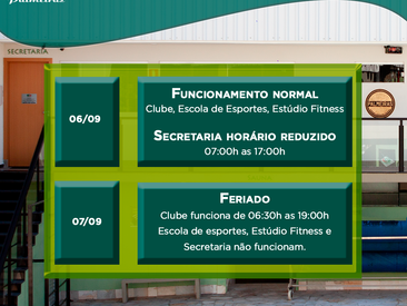Feriado Independência do Brasil - 7 de setembro