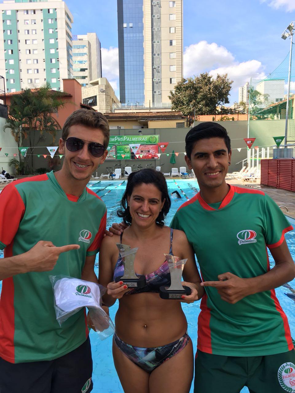Nadadora Milena Lopes