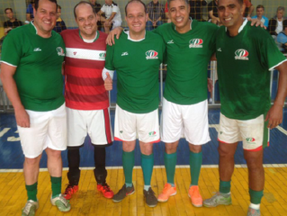 Veteranos do Palmeiras vencem Estrela de Divinópolis  por 3 x 1 e permanecem invictos !
