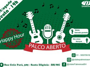 Palco Aberto no Happy Hour do Palmeiras