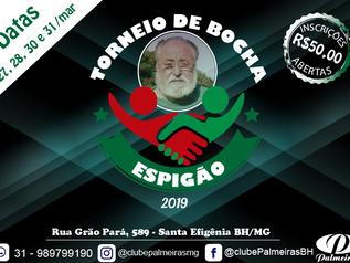 Torneio Espigão de Bocha 2019