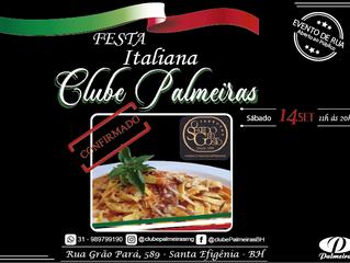 Sentido do Gosto na Festa Italiana do Clube Palmeiras
