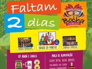 FALTAM 2 DIAS !!! #BochaComigo