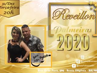 Julie & Paulinho confirmados no Réveillon do Palmeiras
