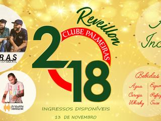 O REVEILLON DO CLUBE PALMEIRAS ESTÁ DE VOLTA !!!