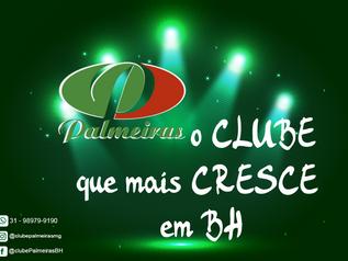 Palmeiras, o Clube que mais Cresce em BH