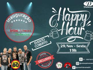 Happy Hour de Novembro e Inauguração Estúdio Palmeiras
