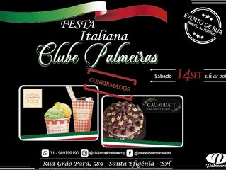 Cacahuatt e Sorveteria Universal na Festa Italiana do Clube Palmeiras