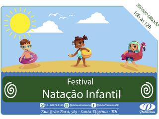 Festival de Natação Infantil do Palmeiras