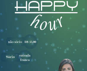 HAPPY HOUR - NOVEMBRO!