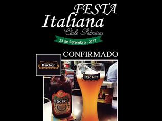 CERVEJARIA OFICIAL DA FESTA ITALIANA DO PALMEIRAS !
