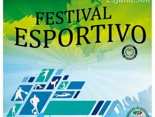 É AMANHÃ O FESTIVAL ESPORTIVO DE INVERNO DO PALMEIRAS !!!