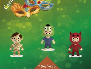 Terça feira de carnaval é no Palmeiras com baile infantil, concurso de fantasia mirim e muitos brinq