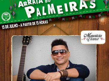 CONFIRMADO NO ARRAIÁ DO PALMEIRAS - MAURÍCIO VIANA !
