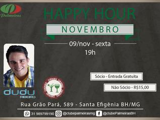 Vem aí o Happy Hour de Novembro