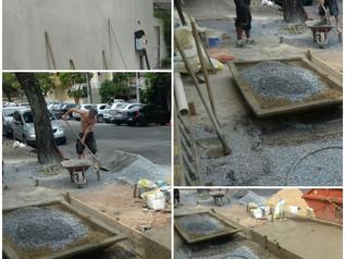 As obras no Palmeiras não param !