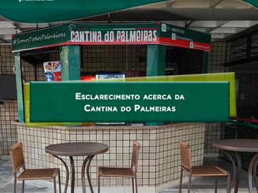 Nova administração da Cantina do Palmeiras