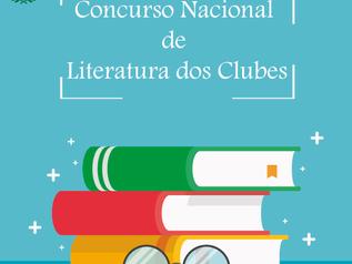 Concurso Nacional de Literatura dos Clubes já está com inscrições abertas !