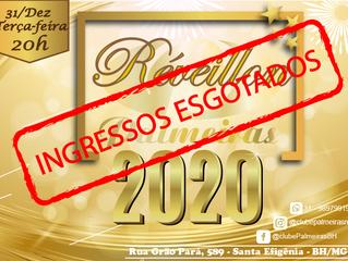 Ingressos ESGOTADOS no Réveillon do Palmeiras 2020
