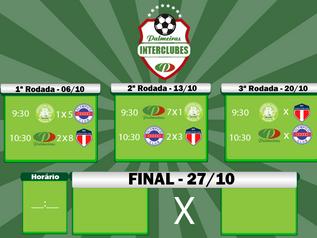 Segunda rodada Interclubes 2019